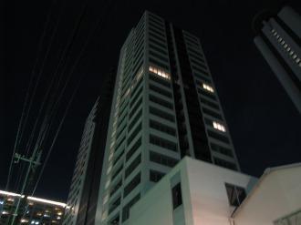 シティハウス武蔵小杉の灯り