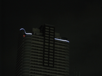 パークシティ武蔵小杉ミッドスカイタワーの照明