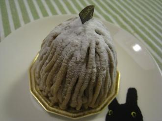 クレオ夫人の手作りケーキ工房のモンブラン