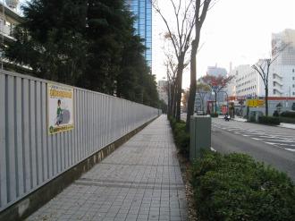 南部沿線道路沿いの新日本石油社宅