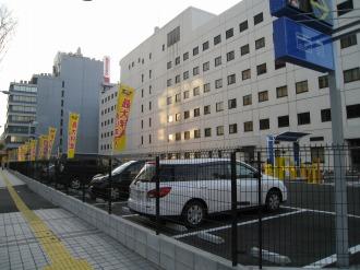 ホテル・ザ・エルシィ跡地の「タイムズ武蔵小杉駅前」