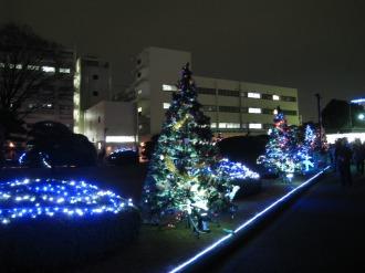 富士通川崎工場本館までの道