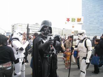 ダース・ベイダーと帝国軍兵士