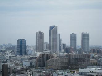 武蔵小杉の再開発ビル群