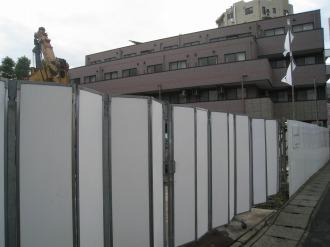 「ジャイアント」のショールームおよび事務所建設予定地