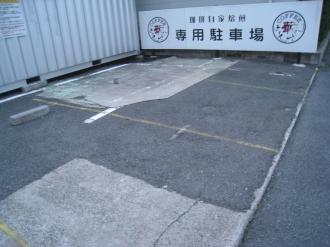 華かんざしの駐車場