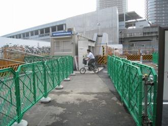 移転した東急武蔵小杉駅自転車等第3駐輪場