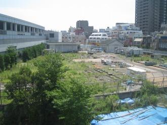 中原変電所の地上部分(2009年9月)