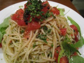 冷製トマトスパゲッティ