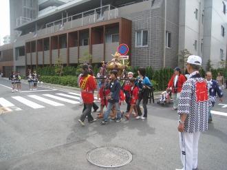 今井南町の子ども神輿
