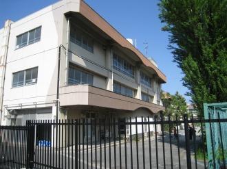 上丸子小学校の既存校舎