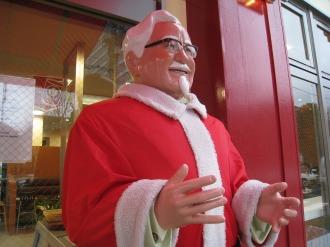 サンタクロースのカーネルおじさん