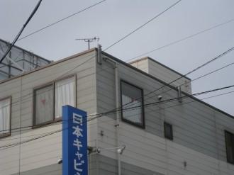 日本キャビネット工業の屋上