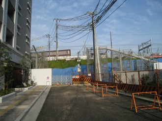 上丸子跨線橋(フローラルガーデン前)