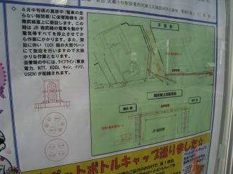 仮管路の図面