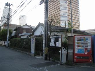 旧F地区の低層住宅エリア