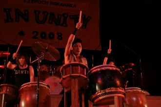 In Unity2008の様子