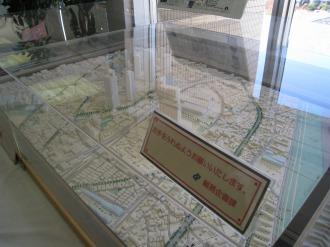 武蔵小杉再開発の模型