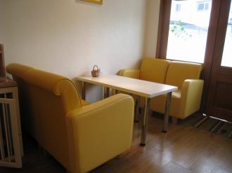 リラズ・カフェの店内