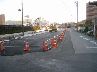 都市計画道路 武蔵小杉駅南口線の南端