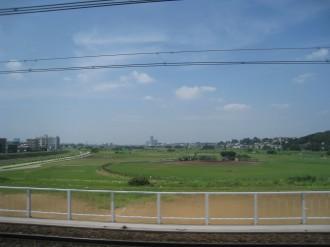 「青木根集落」のあった東横線上流