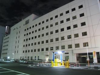 ホテル・ザ・エルシィ跡地とNEC小杉ビル
