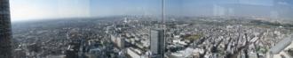 パノラマ写真2 ミッドスカイタワー~丸子橋