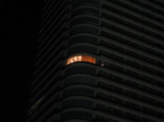 ステーションフォレストタワー 角部屋の灯り