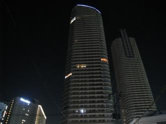 ステーションフォレストタワー 北側より