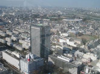 ステーションフォレストタワーから北西の眺望