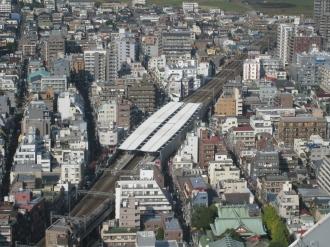 東急新丸子駅