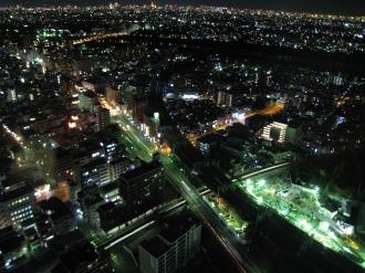 綱島街道・横須賀線・新幹線と南武線の交点