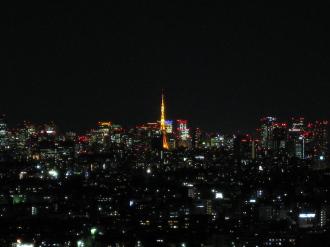 東京都心・東京タワー