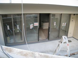 1階部分の内装工事