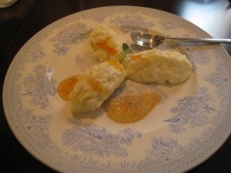 お米のババロア オレンジの香り