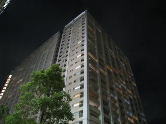 ライトダウンされたレジデンス・ザ・武蔵小杉