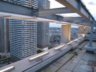 レジデンス・ザ・武蔵小杉の屋上照明