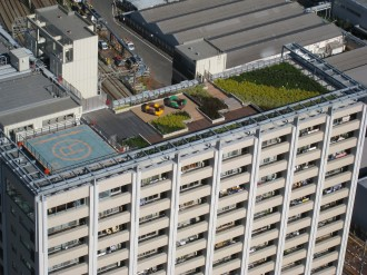 レジデンス・ザ・武蔵小杉の屋上