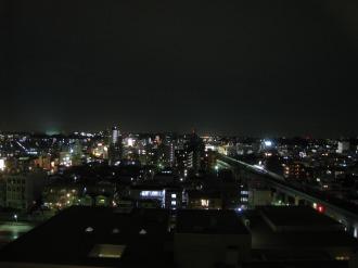 関東労災病院からの夜景
