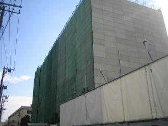 不二サッシ本社ビル(2007年10月頃、取り壊し中)