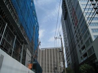 武蔵小杉新駅前ビルとシティハウス武蔵小杉