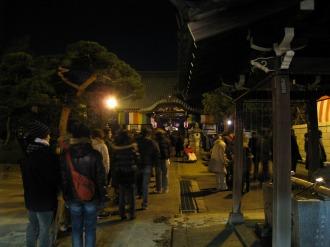 西明寺の行列