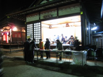 今井神社の神楽殿