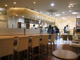 ヴィ・ド・フランスカフェ武蔵小杉店の店内