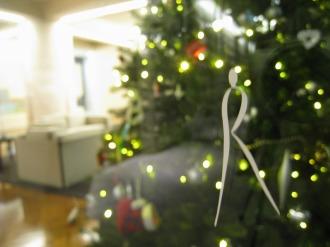 クリスマスツリー探訪スタート