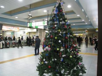 JR武蔵小杉駅のツリー