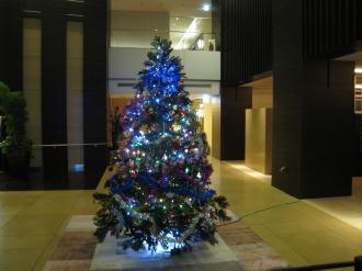 THE KOSUGI TOWERのクリスマスツリー