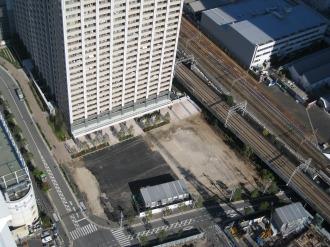 横須賀線駅前ロータリー予定地
