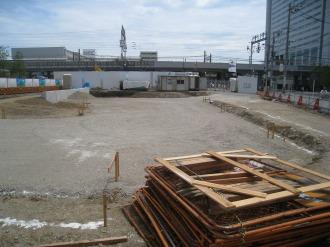 横須賀線武蔵小杉駅ロータリー南側