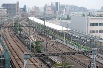 横須賀線武蔵小杉駅工事現場